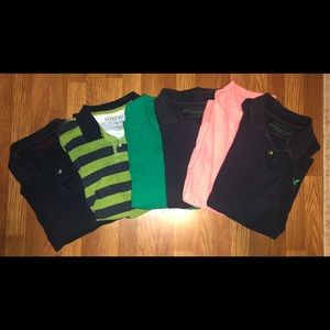 American Eagle (& 1 Aeropostale) polo bundle